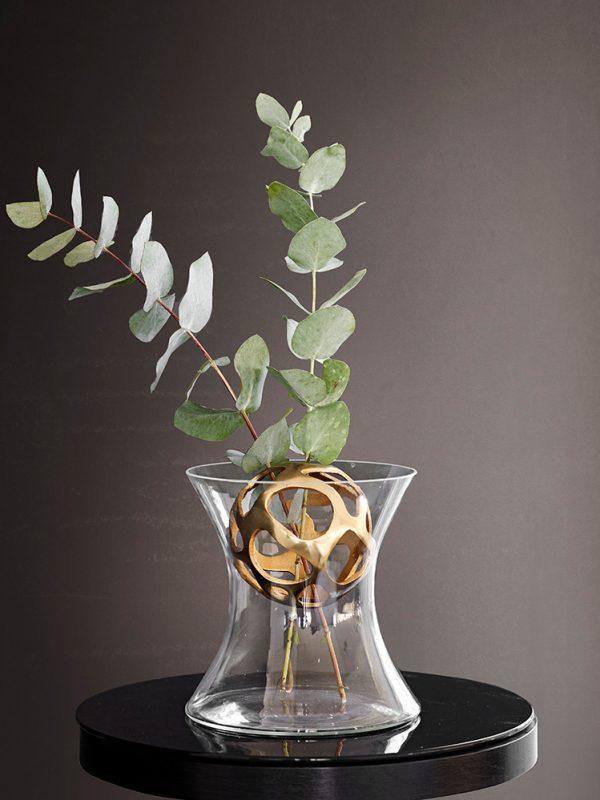 Vas Bloom med guldkula