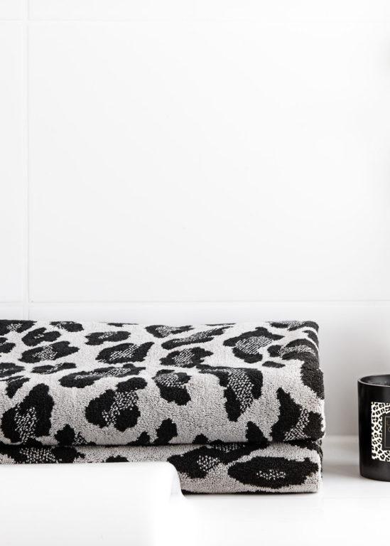 Gästhanduk Leopard