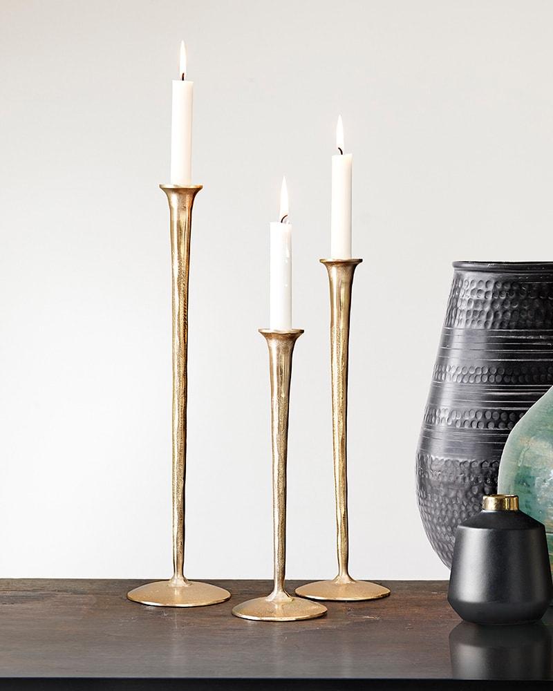 Candlesticks Gallery Gold