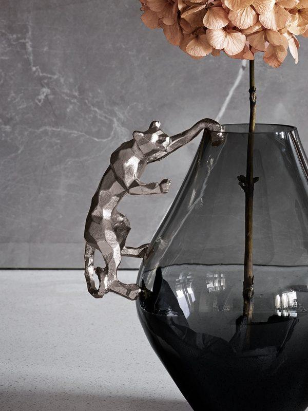 Hanging Jaguar Silver