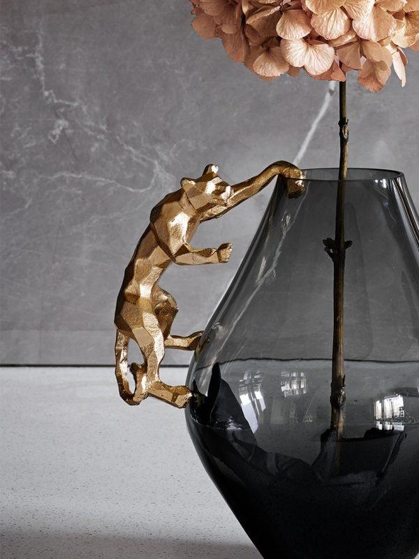 Hängande Jaguar Guld